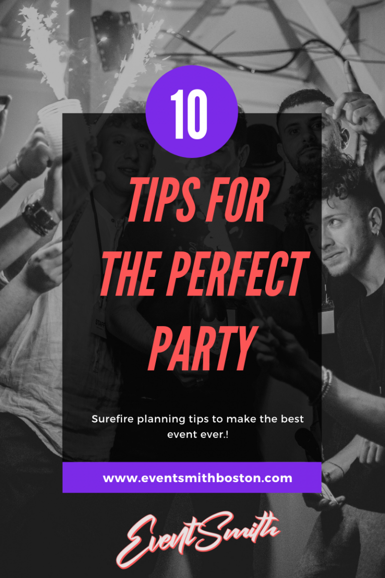 10 perfect part tips